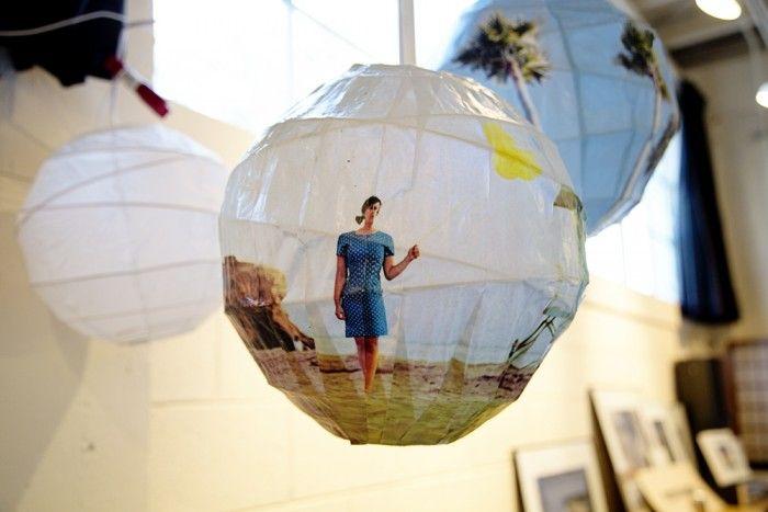 DIY Glowing Photo Spheres