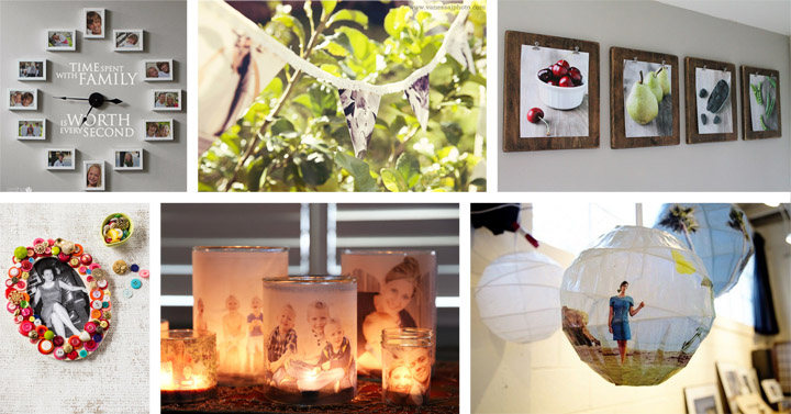50 Creative DIY Photo Display Ideas