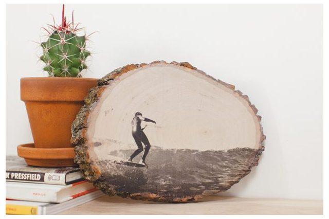 DIY Transfer Ink To Wood