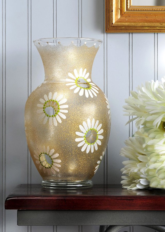 Spring Daisy DIY Vase
