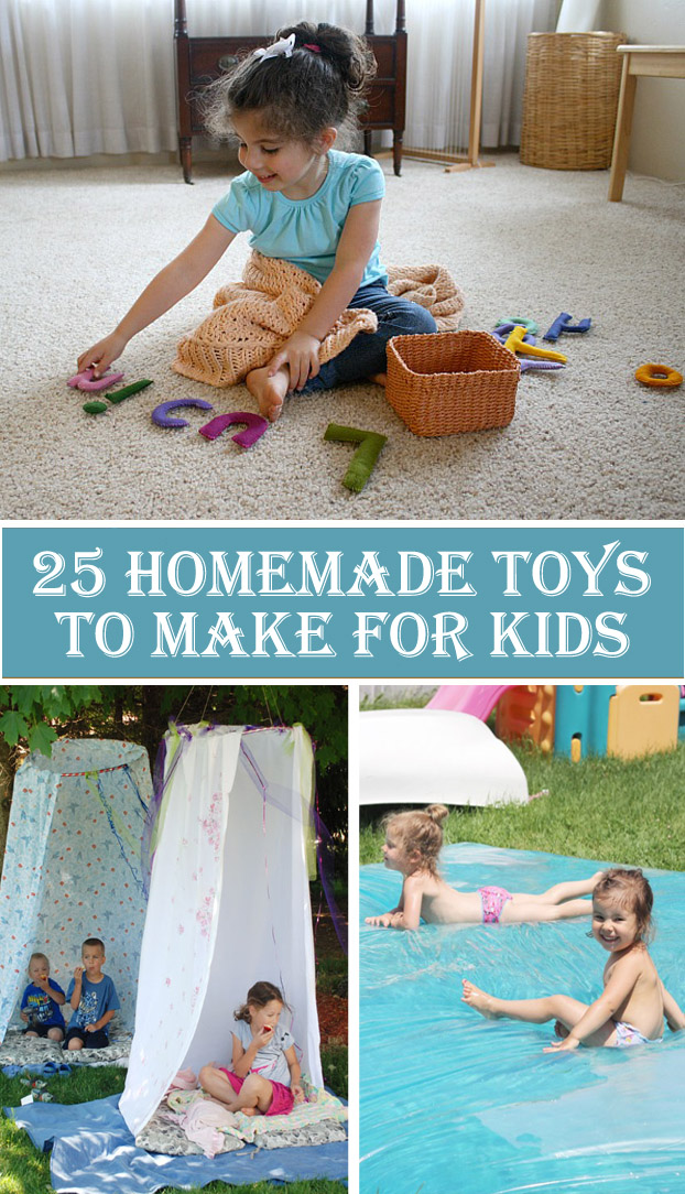 25 Homemade Toys To Make For Kids