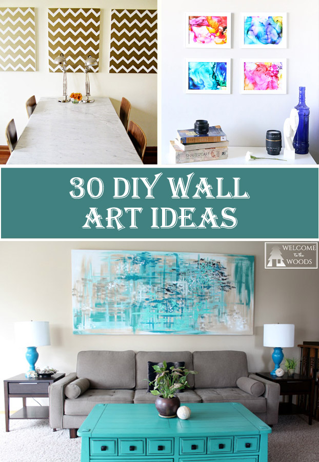 30 DIY Wall Art Ideas