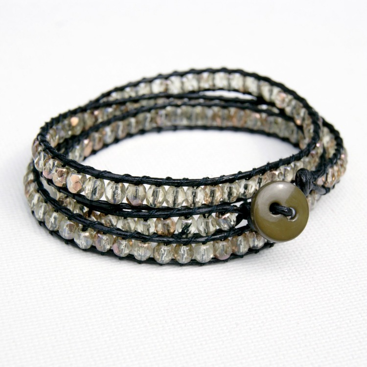 Beaded DIY Wrap Bracelet
