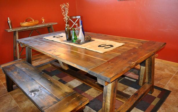 DIY 4x4 Farmhouse Table by DIYPete