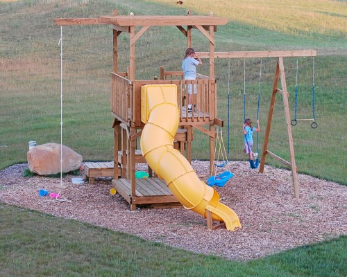 DIY Backyard Play Structure