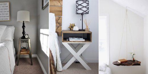 DIY Bedside Table & Nightstand Ideas