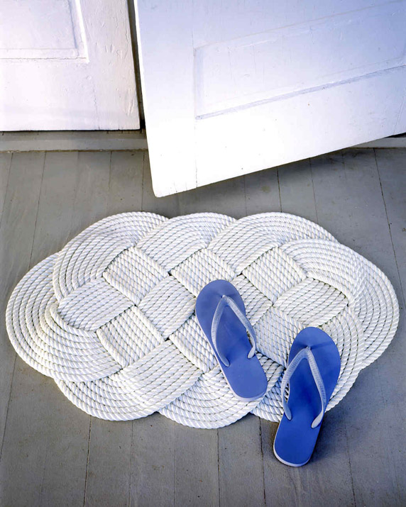 DIY Braided Doormat