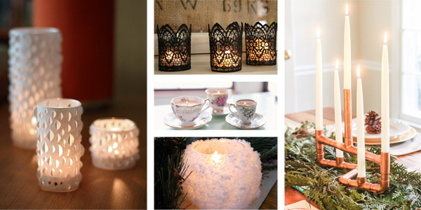 20 Creative & Beautiful DIY Candle Holders Ideas