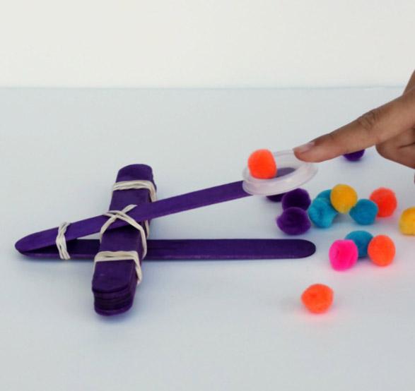 DIY Catapults For Kids