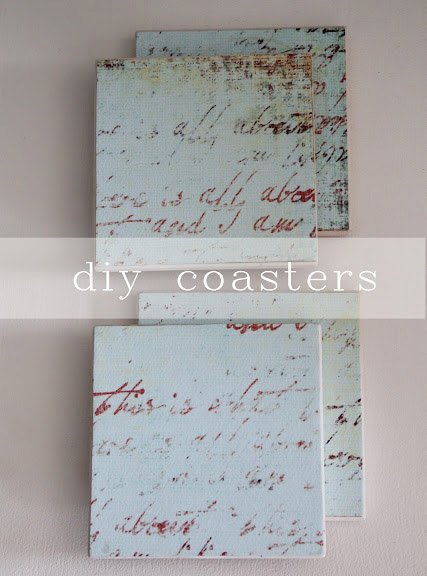 DIY Coasters with Mod Podge