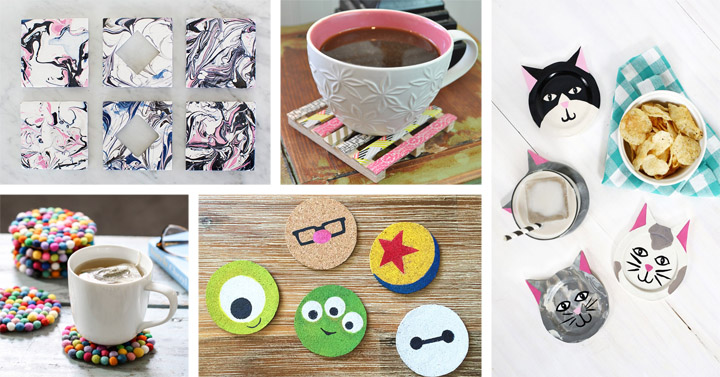 30 Gorgeous DIY Coasters