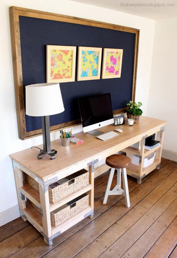 DIY Custom Desk byThat'sMyLetter
