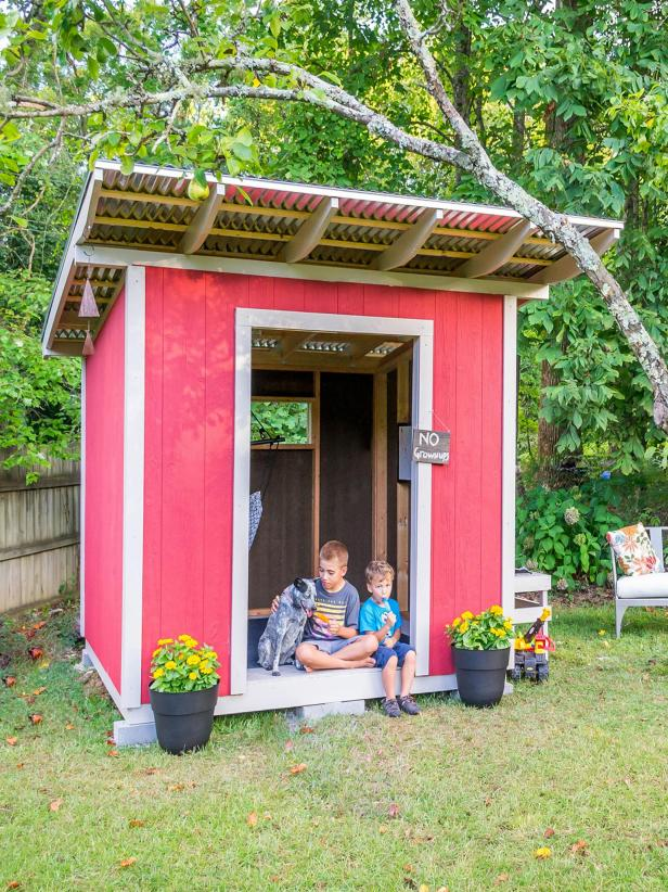 DIY Custom Playhouse by HGTV