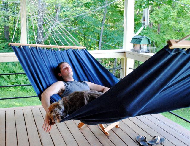 DIY Deck Hammock