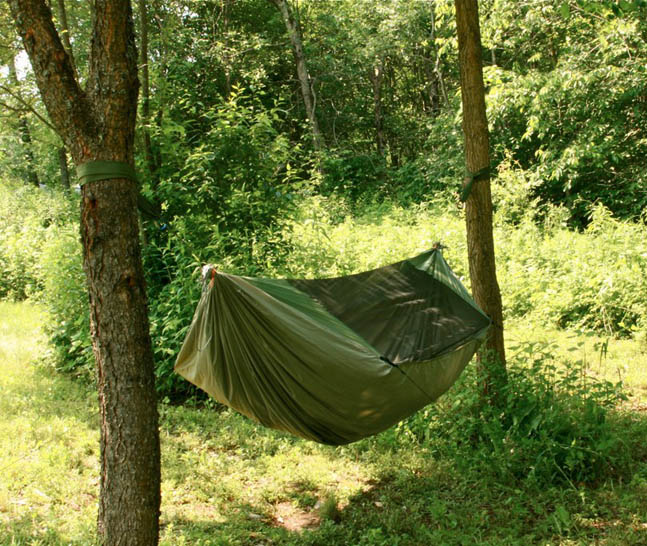 DIY Dual Layer Hammock