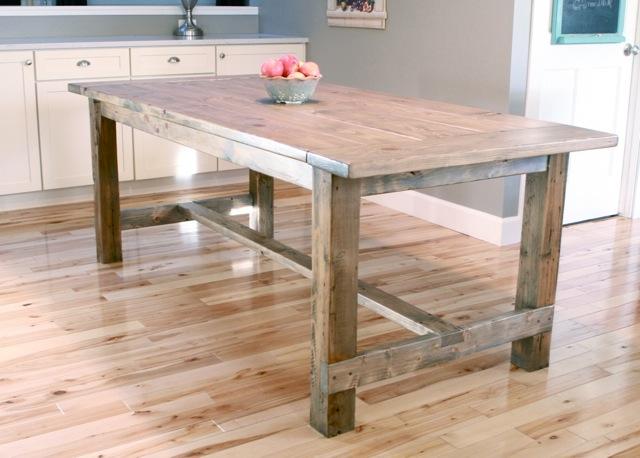 DIY Farmhouse Table by Ana White