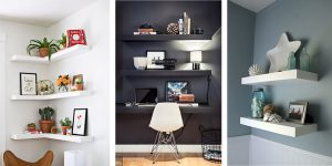 20 Stylish DIY Floating Shelves Ideas