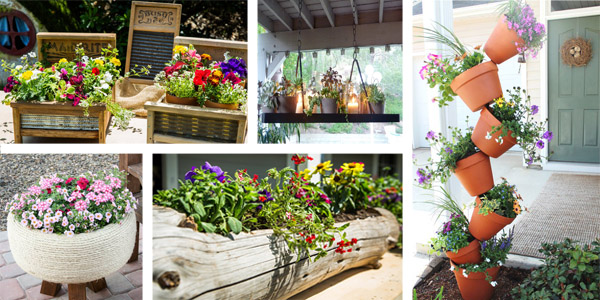 20 Beautiful DIY Flower Bed Ideas