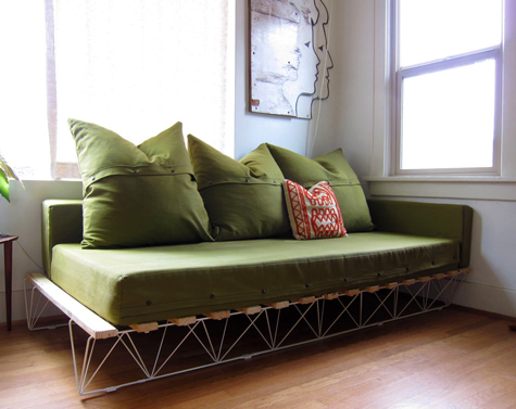 DIY Genevieve's Platform Sofa