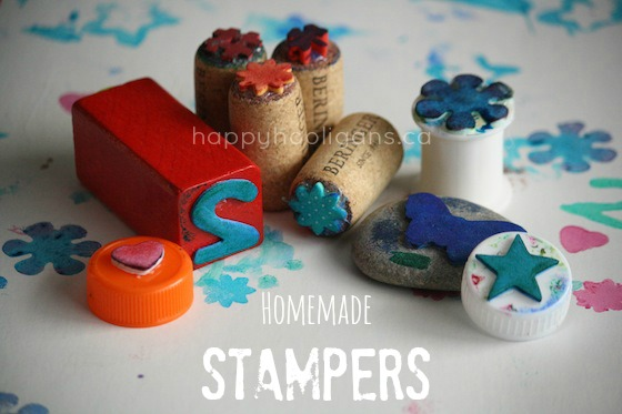 DIY Homemade Stampers