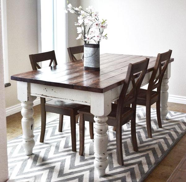 DIY Husky Farmhouse Table by Ana White