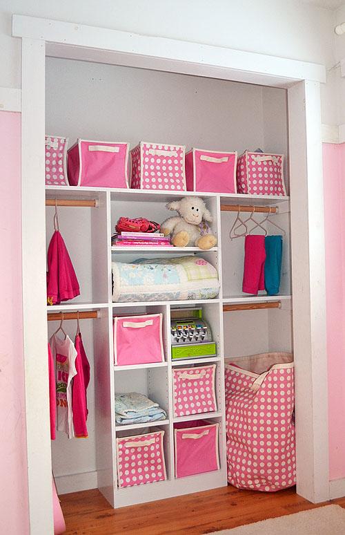 DIY Just My Size Closet