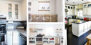 20 DIY Kitchen Cabinets Ideas