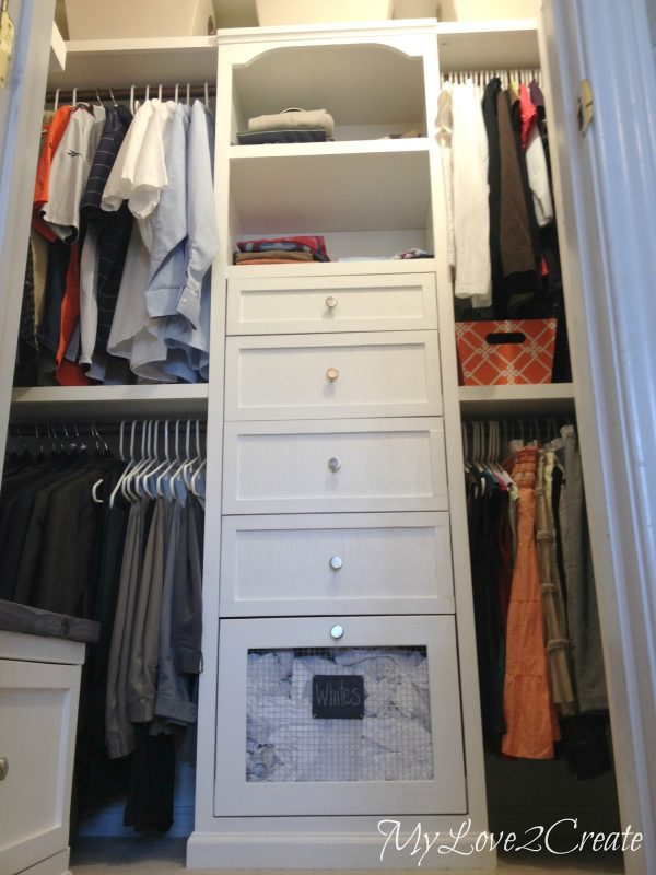 DIY Master Closet Renovation