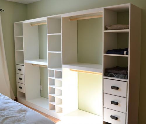 DIY Master Closet System