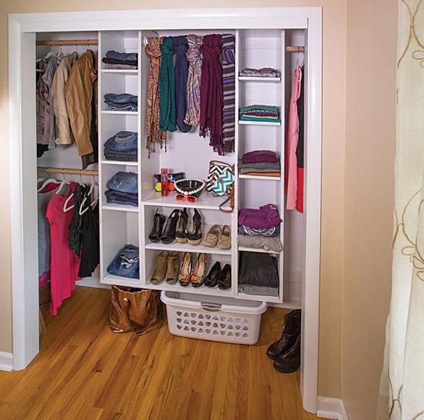 DIY Modular Closet Organizer