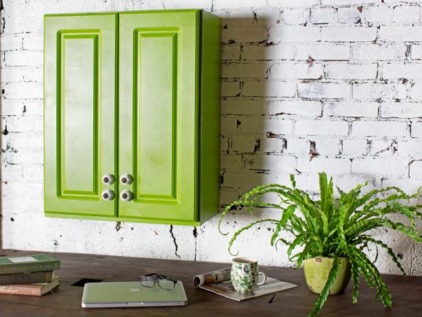 DIY Paint Kitchen Cabinets With a Sprayed-On Finish