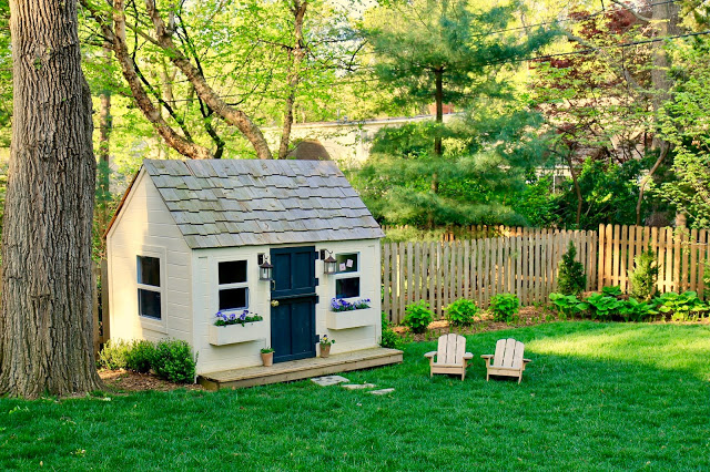 DIY Playhouse by Jenny Steffens