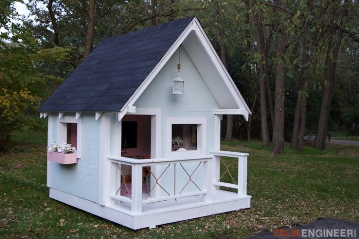 DIY Playhouse by Rogue Engineer