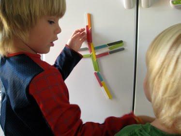 DIY Popsicle Stick Magnets