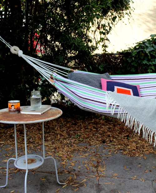 DIY Simple Summer Hammock