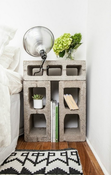 DIY Simply Bedside Table