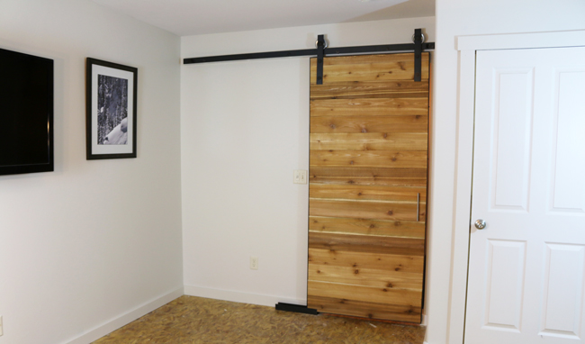 DIY Sliding Barn Door by DIYPete