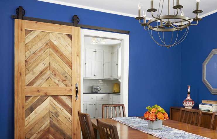 DIY Sliding Barn Door by ThisOldHouse