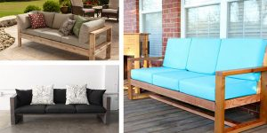 20 Comfy DIY Sofa & Couch Plans
