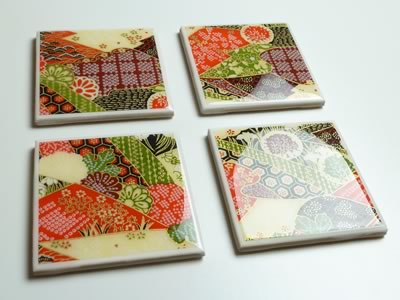 DIY Tile Waterproof Coasters