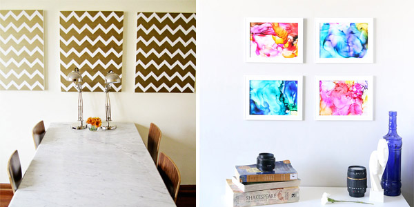30 Amazing DIY Wall Art Ideas