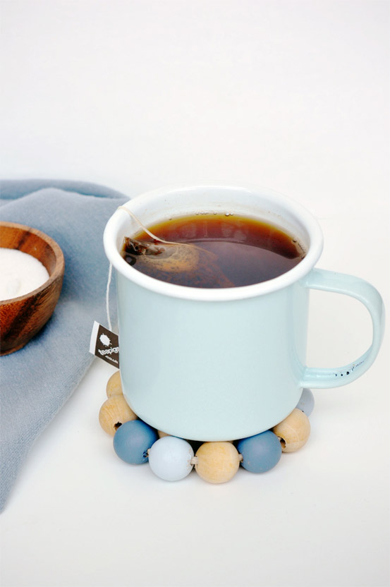 DIY Wooden Beads Coasters