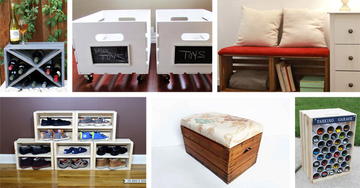 25 Genius Diy Wooden Crate Ideas