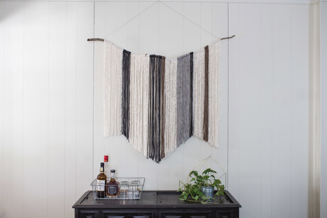 DIY Yarn Wall Art