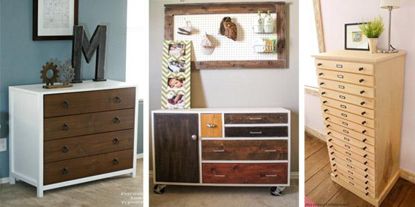 Free DIY Dresser Plans