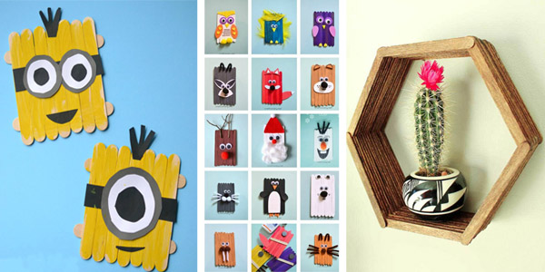 20 Creative Popsicle Stick Crafts