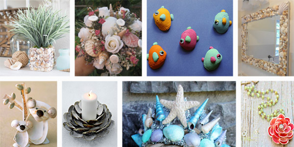 20 Fabulous Seashell Crafts