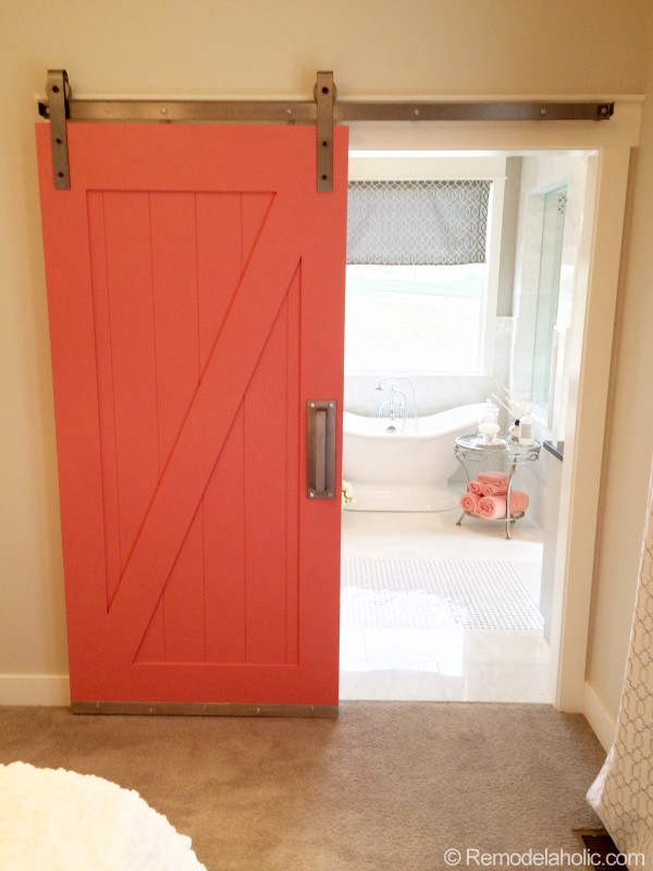 Simple DIY Barn Door by REMODELaholic