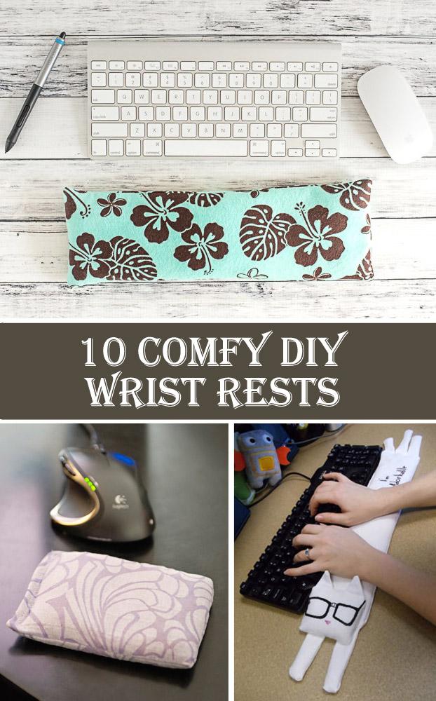 10 Comfy DIY Wrist Rests
