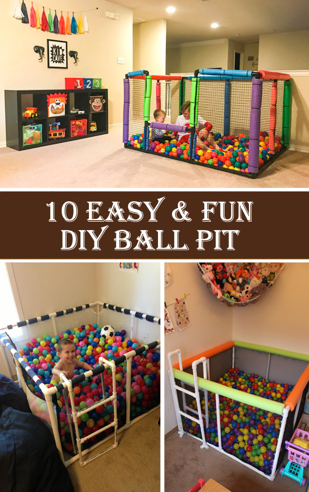 10 Easy & Fun DIY Ball Pit
